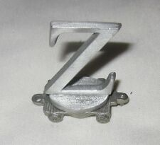 RETIRED 2004 TEG PEWTER LETTER Z TRAIN CAR NWOT