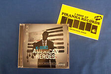 K-Rino Album 05: American Heroes Texas Rap CD NEW Piranha Records