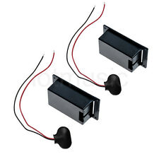 Active Guitar Bass Pickups 9v Battery Holder Case Box 9 volt Replacement  2 Set