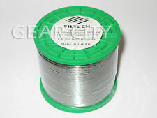 st10 90m 300ft Siltech 1.0mm 5% Silver Solder Lead Halogen Free Spool Roll HiFi