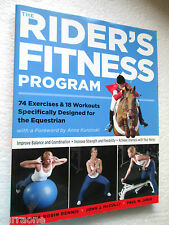 Horses:  THE RIDER'S FITNESS PROGRAM 74 exercises 18 workouts  LARGE SC