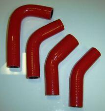 Yamaha RZ350 Silicone Radiator Hose Set - RED - FREE SHIPPING