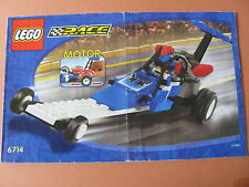 LEGO 6714 @@ NOTICE / INSTRUCTIONS BOOKLET / BAUANLEITUNG