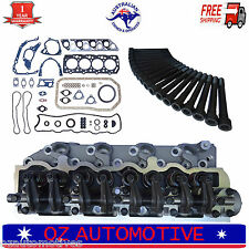 MITSUBISHI DELICA PAJERO TRITON 4D56 8v COMPLETE ASSEMBLED CYLINDER HEAD PACK
