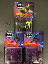 Batman Returns Deep Dive Batman Action Figure Plus 2 More Catwoman Kenner