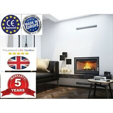 fireplace Inset Wood Burning Cassette Insert Stove Plasma style  - UK SELER -