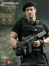"Hot Toys Expendables BARNEY ROSS 12"" Action Figure 1/6 Scale Sylvester Stallone"