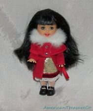 2001 Barbie KELLY CLUB CAROLING LORENA Doll Black Hair w/Outfit Holiday Ornament