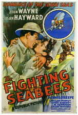 THE FIGHTING SEABEES Movie POSTER 27x40 John Wayne Susan Hayward Dennis O'Keefe