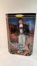 Harley Davidson Ken Barbie doll 1998 NRFB #22255