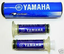 Yamaha Handle Grips & Cross Bar Pad Dirt Bike Pit Bike Pocket Bike Motor Cross.