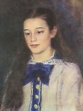 Portrait Of Mademoiselle Therese Bernard By---Pierre Augusta Renoir