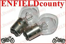NEW 2 UNITS 12V-35/35W MOTORCYCLE SCOOTER HEADLAMP BULBS WITHOUT SHIELD Ba20d