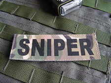 Patch Velcro -- SNIPER multicam -- Tir ghillie airsoft lunette