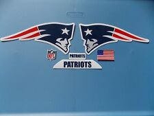 New England Patriots football helmet decals set