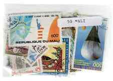 Mali 50 timbres différents