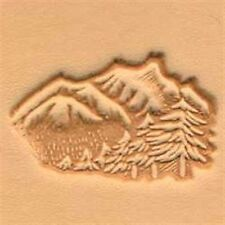 8324 Mountains & Trees Craftool 3-D Stamp Tandy Leather 88324-00