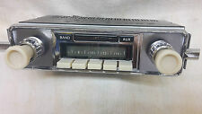 12 volt IVORY Radio & Fascia suit VW Beetle 1958 - 1967. 200Watt, AM/FM.
