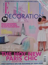 THE HOT NEW PARIS CHIC  September 2002 ELLE DECORATION  Magazine UK EDITION