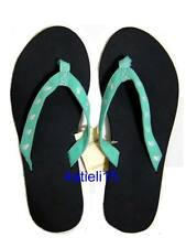 Abercrombie & Fitch Classic Logo Flip Flops Sandals Girl's L 8