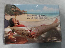 #D176. SEALED PACK OF SINGAPORE AIRLINES KRISFLYER  PLAYING CARDS