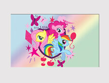 NEW LARGE CANVAS MY LITTLE PONY FRIENDS  WALL ART  CHILDREN ROOM Print picture 4