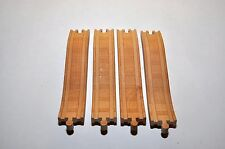 "Thomas wooden tracks :  SET of FOUR RISER TRACKS (8"" tracks)"