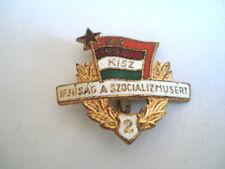 INSIGNE LIGUE DE LA JEUNESSE COMMUNISTE KISZ 1919 1957 HONGRIE POLITIQUE