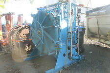 LARGE REID BOILER WORKS FMC CORPORTATION SOIL STERILIZER WITH REELS