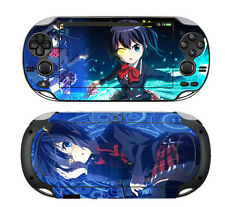 PS VITA 1000 Skins Stickers Decals Covers Anime BLACK ROCK SHOOTER 004