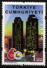 TURKEY MNH 2012 The 60th Anniversary of The Union of Chambers and Commodity