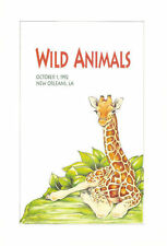#2705-09 FD Program 29c Wild Animals Stamps