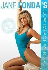 Jane Fonda's Low Impact Workout DVD 2015 by LIGHTYEAR VIDEO Ex-library