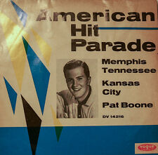 "PAT BOONE MEMPHIS  TENNESSEE - KANSAS CITY - VOGUE RECORDS  7""SINGLES (h289)"