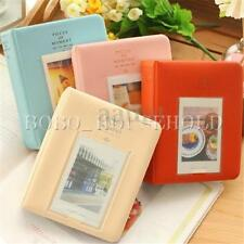Mini Instant Picture Photo Album Case Storage Film Size 64 Pockets For Polaroid