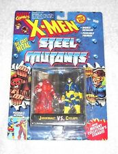 X-Men Steel Mutants - Juggernaut vs. Cyclops - MOC 100% complete (TOY BIZ)