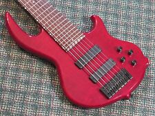 Conklin Groove Tools GT7 7 String Bass! Red! Active! GT-7! w/gigbag