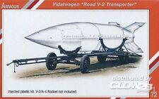 SpecialArmour Vidalwagen Road V-2 V2 Transporter Transportwagen 1:72 Bausatz kit