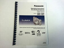PANASONIC LUMIX DMC-TZ60 PRINTED INSTRUCTION MANUAL USER GUIDE 329 PAGES