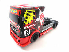 Scalextric Red & Yellow #8 Starco Racing Truck DPR 1/32 Scale Slot Car C3609