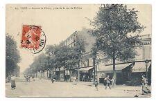paris avenue de choisy prise de la rue de tolbiac   (a0216)