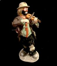 """Emmet Kelly jr figurines flambro """"no Strings Attached"""" #9756 Limited Edition"""