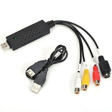 Capturadora de video pasar vhs a pc usb 2.0 compatible con windows 7 8 pc ps3