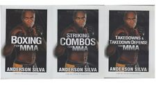 Anderson Silva Boxing Takedowns & Defense Striking Combos for MMA 3 dvd set ufc