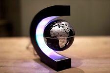 GALLEGGIANTI LED Globe World Map MAGNETIC Levitation LUCE ANTIGRAVITY MAGIC ROMANZO