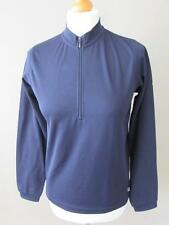 REGATTA XERT Ladie Navy Blue 1/2 Zip Down Comfort Control Layer Base Top Size 12