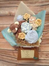 Baby Clothing Bouquet- Baby Boy- Baby Shower Gift