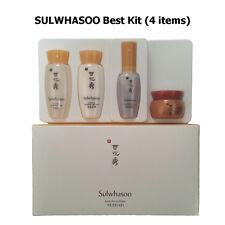 [SULWHASOO] Basic Kit (4 Items) / Serum, Water, Cream, Ginseng Eye Cream