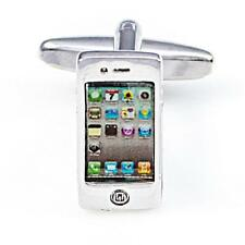 Smart Phone Cufflinks Wedding Fancy Gift Box Free Ship USA