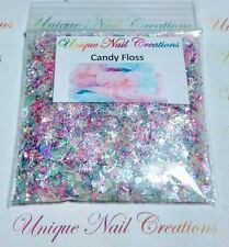 Limited Edition Glitter Mix~CANDY FLOSS* Comes W Alloy~ Nail Art